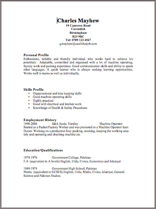 Job Application Form  PDF Download for Employers